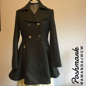 Stunning Laundry Double Breasted Wool Coat - NWT!